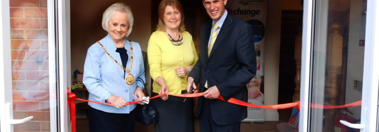 Gavin opens Age UK day care centre