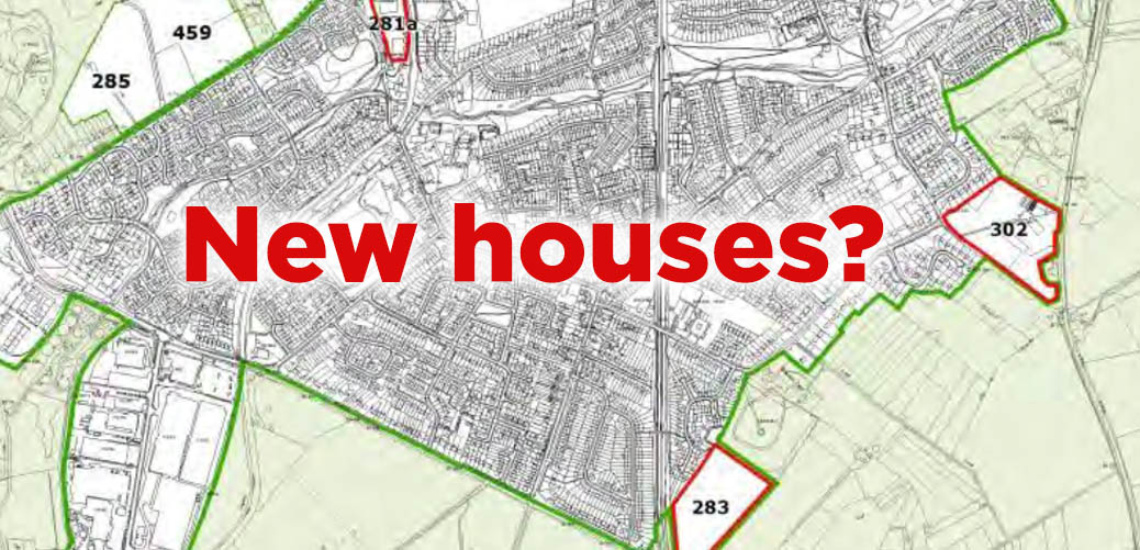 New Allocated Housing Sites in Wombourne